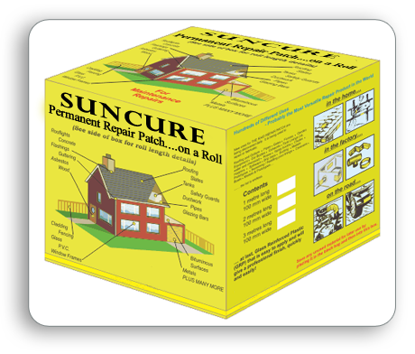 Suncure Repair Patch on a Roll